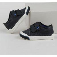 Tênis Infantil Pimpolho Com Velcro Azul Marinho