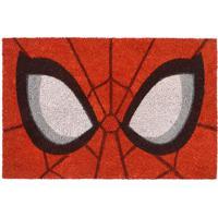 Capacho Spider Man®- Vermelho & Preto- 1,5X61X41Cm