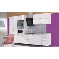 Cozinha Modulada Completa Com 6 Módulos Branco - Art In Móveis