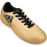 Chuteira Futsal Infantil Adidas X 17 4 In - Masculino