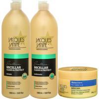 Kit De Shampoo & Condicionador Micellar Clean & Protect + Mã¡Jacques Janine