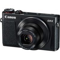 Câmera Digital Canon G9X Fhd Wi-Fi 20Mp Preto