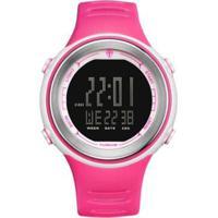 Relógio Tuguir Digital Tg001 Feminino - Feminino-Rosa