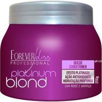 Máscara Platinum Blond Uso Diário Forever Liss - Feminino-Incolor