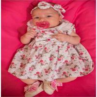 Vestido Floralzinho Rosa