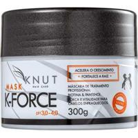 Máscara Knut K-Force 300G - Unissex-Incolor