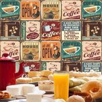 Adesivo Azulejos Café