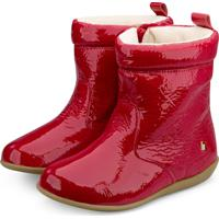 Bota Infantil Bibi Vermelha Verniz Rainbow 1089019 27