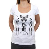 Flashes Tattoo - Camiseta Clássica Feminina