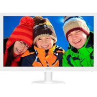 "Monitor Philips 21.5"" Led Full Hd Widescreen 223V5Lhsw Branco"