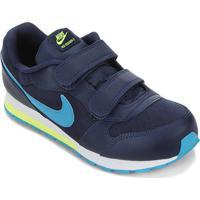 Tênis Infantil Nike Md Runner 2 Velcro Masculino - Masculino-Marinho