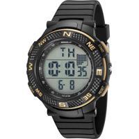 Kit De Relógio Digital Speedo Masculino + Fone De Ouvido - 81195G0Evnp1K1 Preto