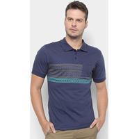 Camisa Polo Rusty Bearhave -81.16.0211 - Masculino-Marinho