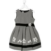 Colorichiari Vestido Com Estampa De Margarida - Preto