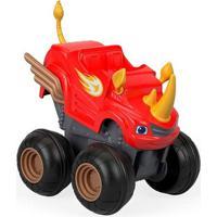 Carrinho Blaze - Turbo Slam Go - Acelerador Blaze Rinoceronte - Fisher-Price