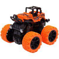 Mini Carrinho Caminhonete Com Fricçáo Manobras De 360° Graus – Unik Toys Laranja