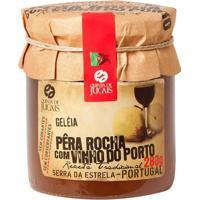 Geleia- Pera-Rocha Com Vinho Do Porto- 280G- Adeadega Alentejana