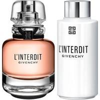 Kit Eau De Parfum 35Ml + Gel De Banho 200Ml Givenchy L'Interdit - Feminino-Incolor