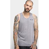 Camiseta Regata Oakley Dynamic Masculina - Masculino-Cinza Claro