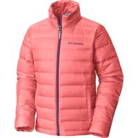 Jaqueta Infantil Airspace Down Pluma Hot Coral - Columbia