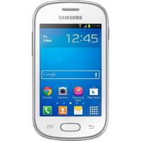 "Smartphone Samsung Galaxy S6792 Fame Lite Branco Ds - 4Gb - 5Mp - Tela 3.5"" - Android 4.1"