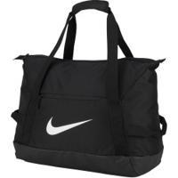 Mala Nike Academy Team Duffel - 48 Litros - Preto