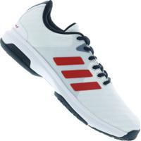 Tênis Adidas Barricade Court Oc - Masculino - Branco Vermelho dc5d0a2747226