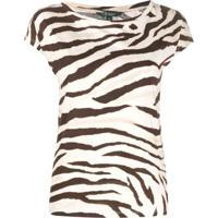 Polo Ralph Lauren Camiseta Com Estampa De Zebra - Neutro