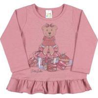 Blusa Bebê Menina Cotton - Feminino