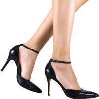 Sapato Laura Porto Scarpin Bico Fino Salto Alto