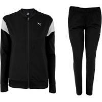 Agasalho Puma Classic Tricot Suit - Feminino - Preto