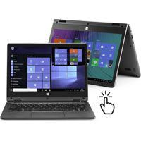 Notebook Multilaser 2 Em 1 M11W Plus Intel Celeron 2Gb 64Gb 11.6 Pol. Touch Screen Full Hd Windows 10 Cinza - Pc112 - Padrão