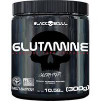 Glutamina Black Skull 300G - Unissex