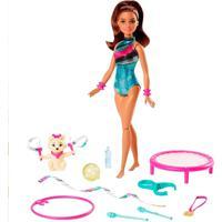 Barbie Explorar E Descobrir Teresa Ginasta - Mattel - Kanui