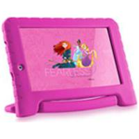 Tablet Multilaser Disney Princesas Plus 16Gb Tela 7 Pol. Quad Core Dual Camera Rosa- Nb308