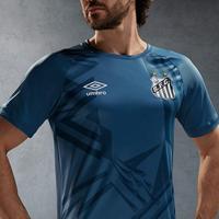 Camisa De Goleiro Santos 20/21 N° 1 Torcedor Umbro Masculina - Masculino
