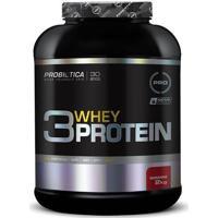 3 Whey Protein - 2Kg - Probiótica - Morango