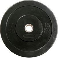 Anilha Crossfit Bumber Borracha Preta Gears - 15Kg - Unissex