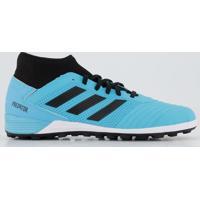 Chuteira Adidas Predator 19.3 Society Azul