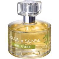 Perfume Feminino Dolce & Sense Vanille/Muscparis Elysees Eau De Parfum 60Ml - Feminino-Incolor