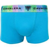 Cueca Boxer Cavalera Anatômica Azul