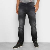 Calça Jeans Colcci Rodrigo Slim Masculina - Masculino-Preto