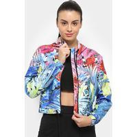 Jaqueta Nike Sportwear Hyperflora Vwn Feminina - Feminino-Rosa+Azul