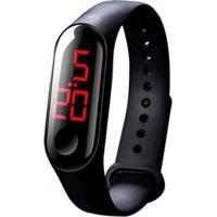 Relógio Orizom Infantil Led Bracelete Rdl83 Masculino - Masculino-Preto