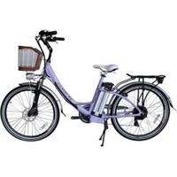 Bicicleta Elétrica Alumínio E Lítio 6V Aro 26 July - Unissex