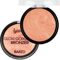 Blush Bronze Baked A Luisance Glow Gorgeous Bronzeador Perfeito - Feminino-Incolor