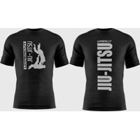 Camiseta Uppercut Jiu-Jitsu Dry Fit Preta - Kanui