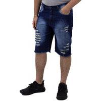 Bermuda Jeans Masculina Destroyed Ecxo