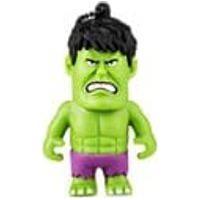 Pen Drive Marvel Vingadores Hulk 8Gb Usb Leitura 10Mb/S E Gravacao 3Mb/S Multilaser - Pd082