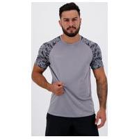 Camisa Topper Fut Titanium 2 Cinza